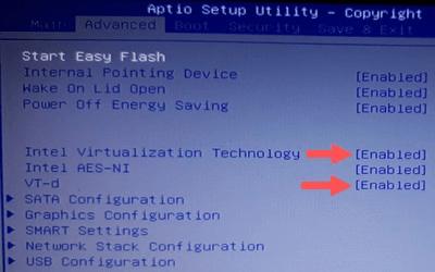 Intel Virtualization Technology en VT-d