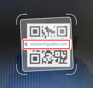 QR code met een link