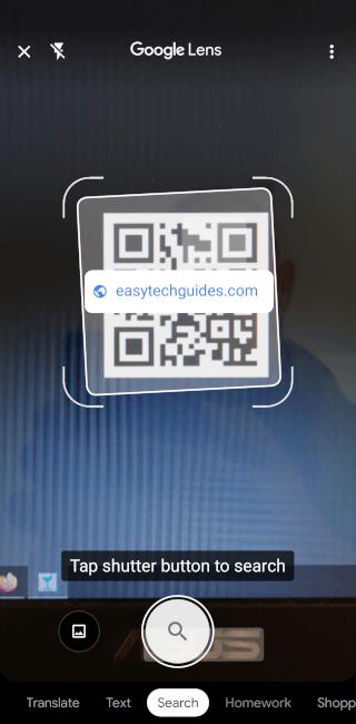 QR code scannen en lezen op een Android-telefoon
