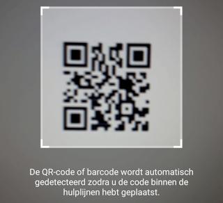 QR-code scannen en lezen op een Samsung-telefoon