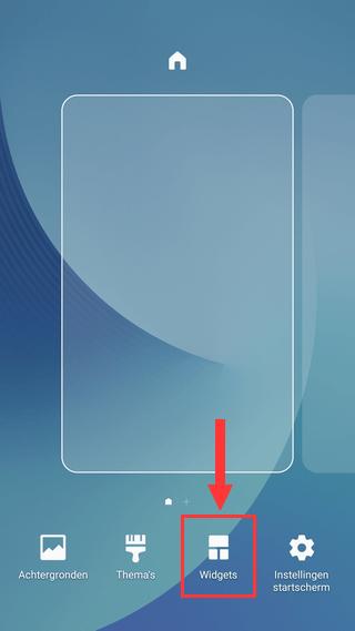 Samsung Galaxy Widgets