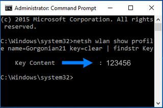 WiFi Wachtwoord Achterhalen in Windows met Opdrachtprompt