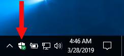 Windows-beveiliging openen in Windows 10